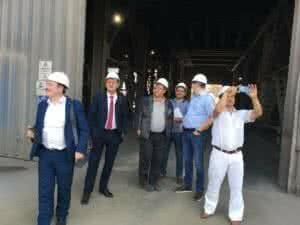 Посещение Абинского ЭлектроМеталлургического Завода представителями НП НСРО «РУСЛОМ.КОМ»